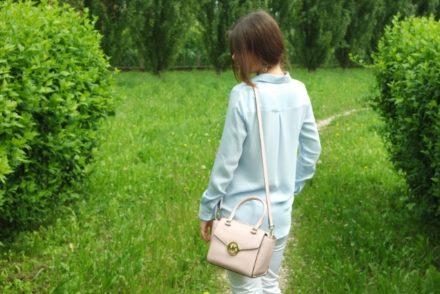 Outfit Azzurro Serenity e Rose Quartz